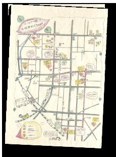 オリジナルガイドマップ